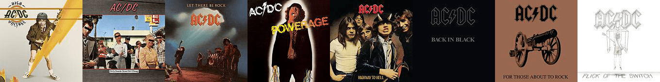 ACDC albums