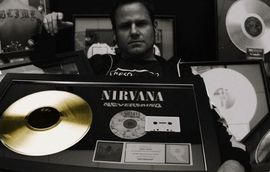 Marco Collins Nirvana Gold Record