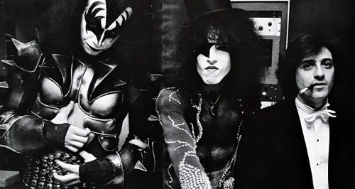 Simmons, Frehley with Ezrin